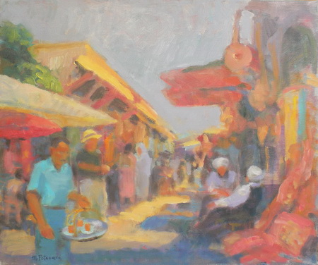 1151 In Bazar, Istanbul 46x55 up 2010