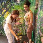 Mirela TRAISTARU - Body painting 11