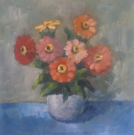 Mihai POTCOAVA - 0470 Flowers 38x38 up 1993
